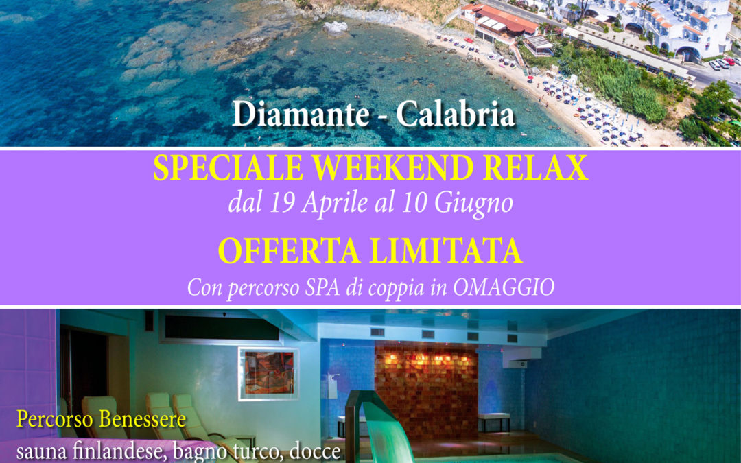 Speciale Weekend Relax